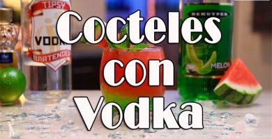 cocteles con Vodka